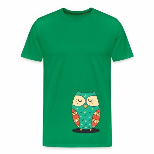 Cute Owl - Männer Premium T-Shirt