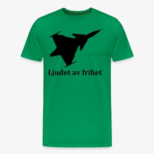 Gripen - Ljudet av frihet - Premium-T-shirt herr
