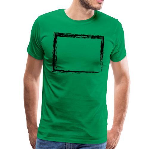 Wegzeichen in der Nähe - Kreide - Farbe wählbar - Männer Premium T-Shirt