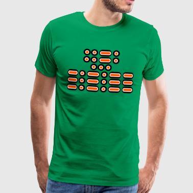 FFS !!! (pomarańczowy / biały / czarny) - Koszulka męska Premium