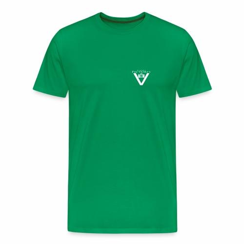 Vlado'S Pictures LOGO WEIß - Männer Premium T-Shirt