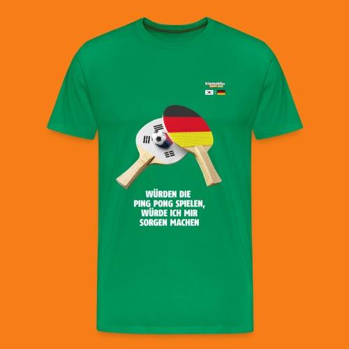 Korea Shirt - Männer Premium T-Shirt