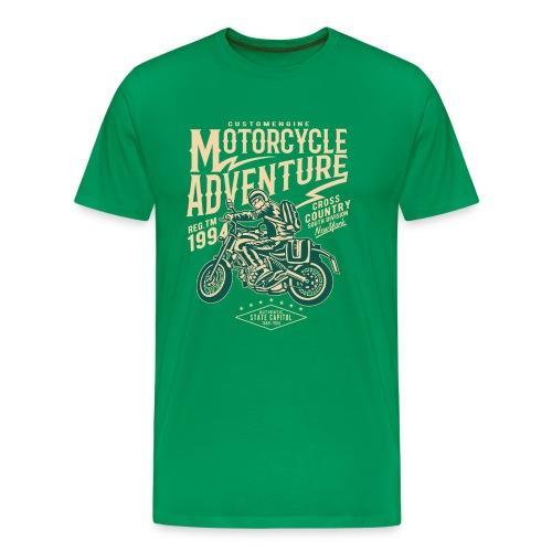 Motorrad Retro - Männer Premium T-Shirt