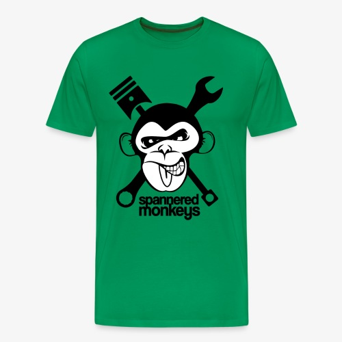 spanneredmonkeys-monkeyface - Men's Premium T-Shirt
