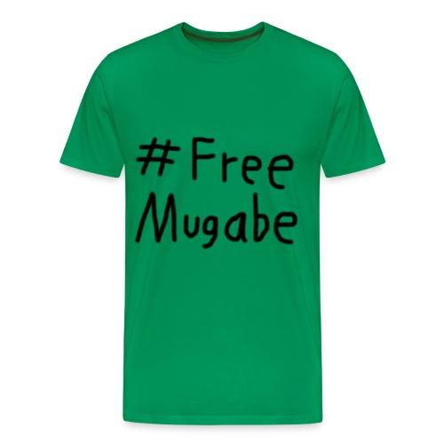 Free Mugabe - Männer Premium T-Shirt