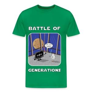 Battle of generations - Maglietta Premium da uomo