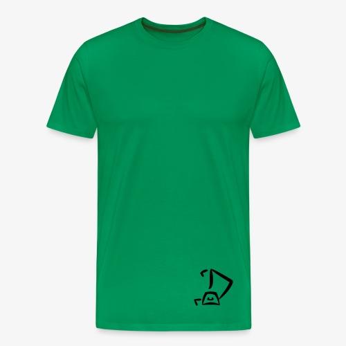 Strandkorb Logo - Männer Premium T-Shirt
