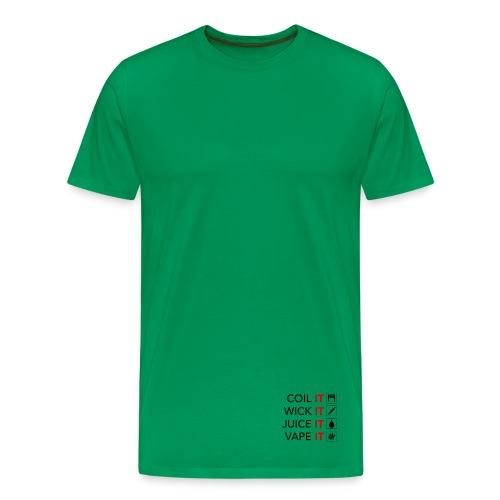 Vape Meme - Männer Premium T-Shirt