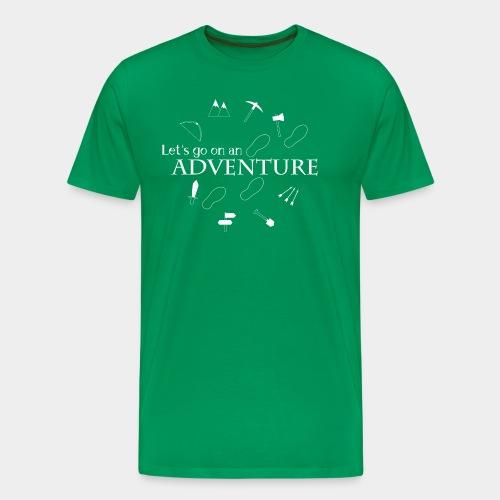 Let's go on an adventure! - Men's Premium T-Shirt