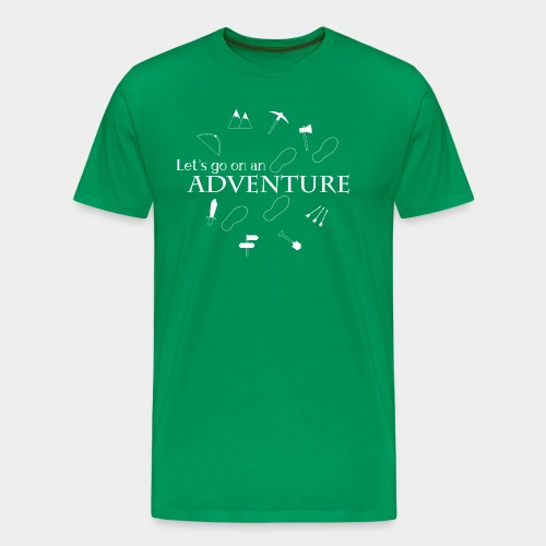 Let's go on an adventure! - Men's Premium T-Shirt