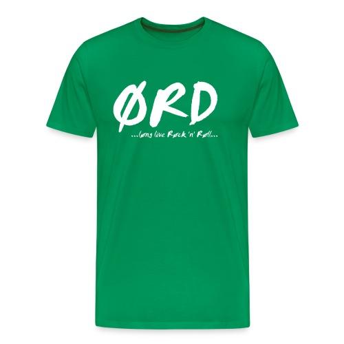 Ørd Bandname - Männer Premium T-Shirt