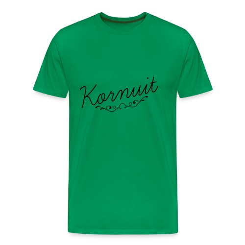kornuit - Mannen Premium T-shirt