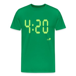 Time for 420 - Men's Premium T-Shirt