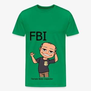 Female Body Inspector - Männer Premium T-Shirt