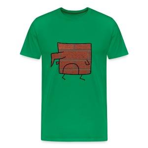Brick Berd - Men's Premium T-Shirt