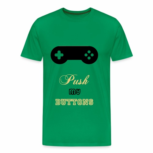 push my buttons - Männer Premium T-Shirt