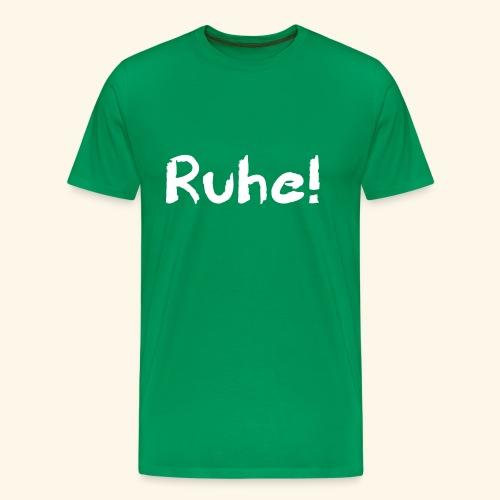 Ruhe - Männer Premium T-Shirt