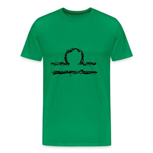 Sternzeichen: Waage - Männer Premium T-Shirt