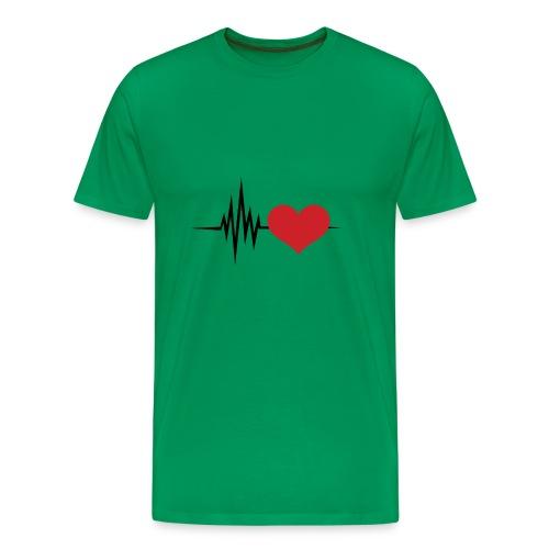 Latiendo por tu amor - Camiseta premium hombre