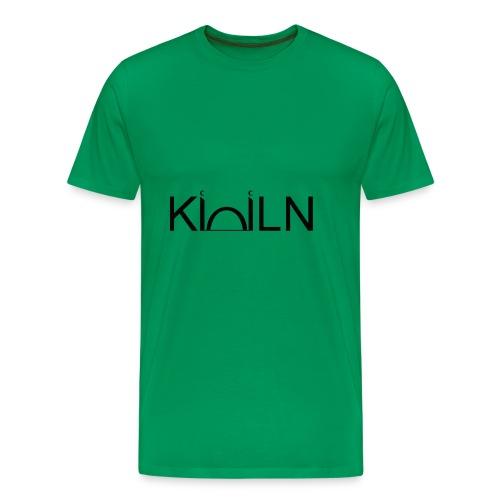 Logo Moschee Köln schwarz auf weiß - Männer Premium T-Shirt