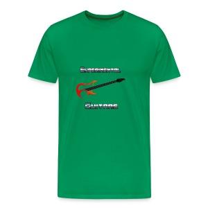Experimental Guitars logo-metallic - Men's Premium T-Shirt