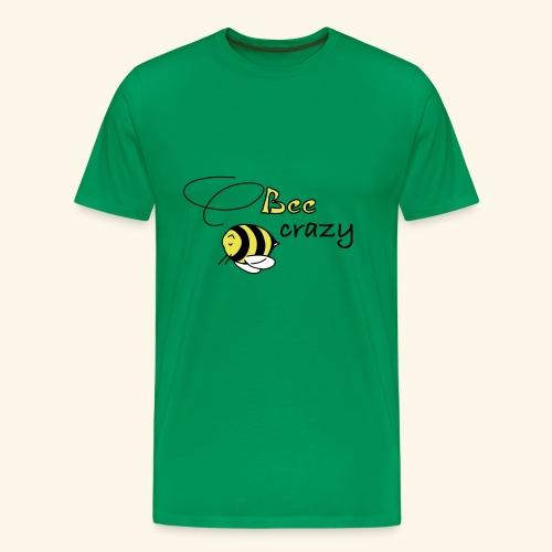 bee crazy - Männer Premium T-Shirt