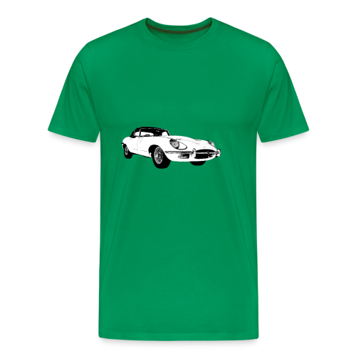E type jag - Men's Premium T-Shirt