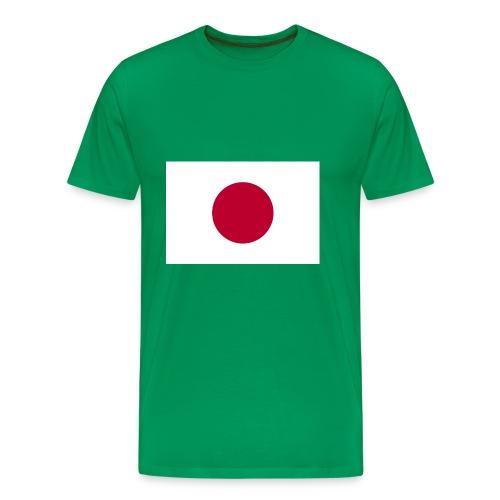 Small Japanese flag - Men's Premium T-Shirt