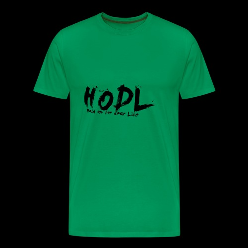 HODL | Crypto Shirt - Männer Premium T-Shirt