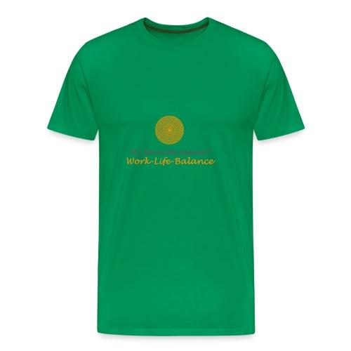 Favorite Asana Mandala - Männer Premium T-Shirt