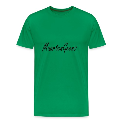 MaartenGeens Zwart - Mannen Premium T-shirt