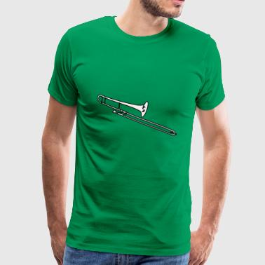 trombone 295239 - Men's Premium T-Shirt