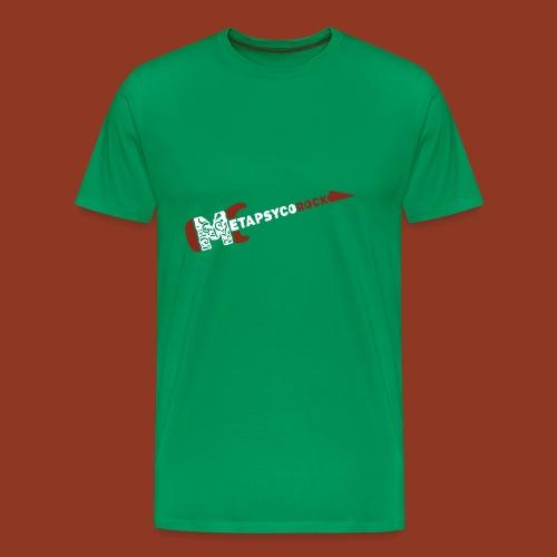 METAPSYCOROCK - Maglietta Premium da uomo