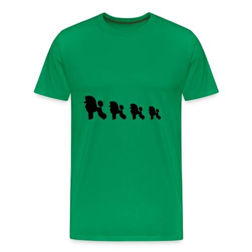 Villakoirat - Miesten premium t-paita