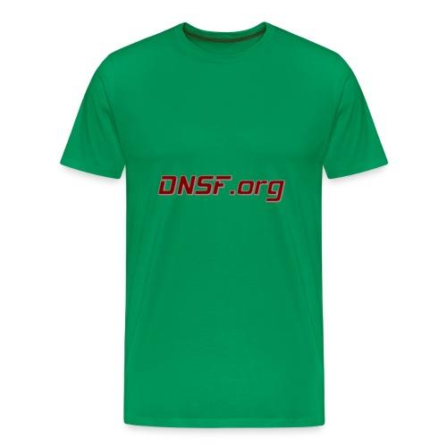 DNSF t-paita - Miesten premium t-paita