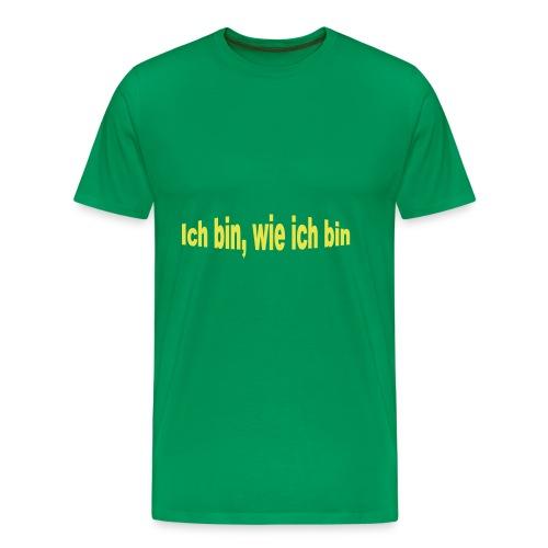 Limitierte Edition, kurz und Prägnant, einfach - Männer Premium T-Shirt