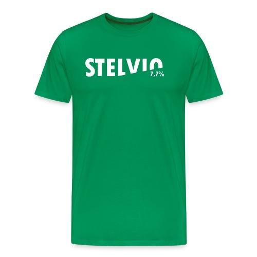 Stelvio Koers - Mannen Premium T-shirt