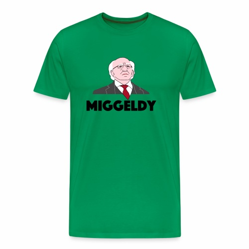 Miggeldy Higgins - Men's Premium T-Shirt