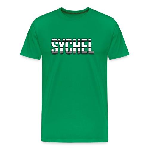 Sychel Bold Logo - Men's Premium T-Shirt