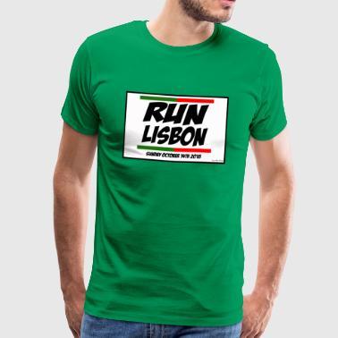Lissabon Marathon Design 2018 - Männer Premium T-Shirt
