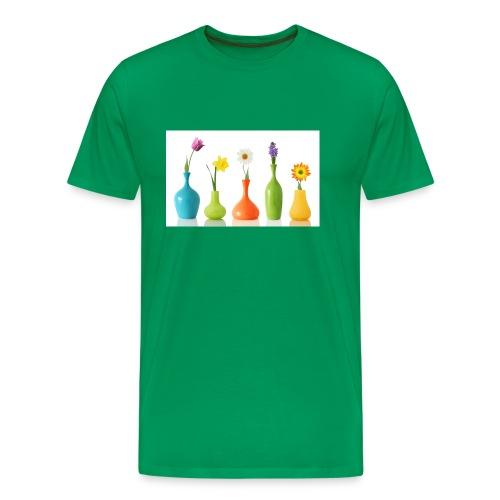 bloempotje - Mannen Premium T-shirt