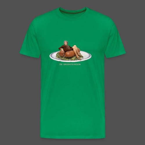 Rookworst (v) - Mannen Premium T-shirt