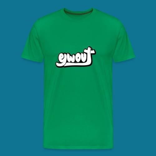 Premium T-shirt vrouw (zwart wit) - Mannen Premium T-shirt