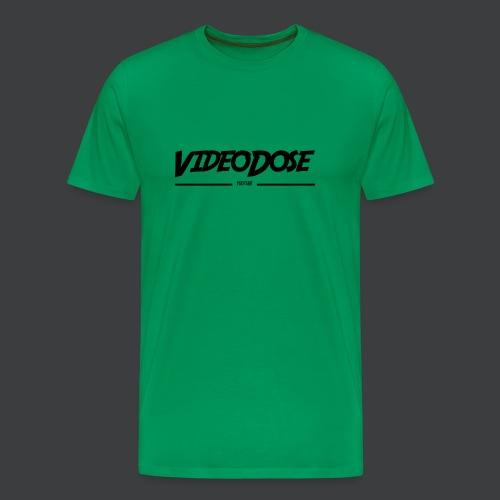 t-shirt_design_VideoDose - Mannen Premium T-shirt