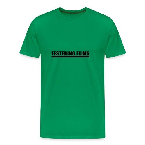 Festering Films Logo (Black) - Men's Premium T-Shirt