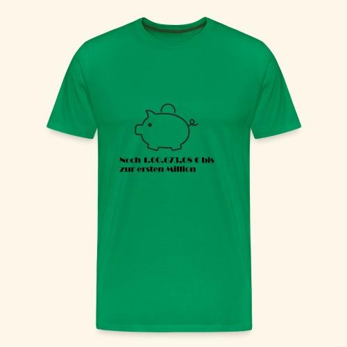 Sparschweinchen - Männer Premium T-Shirt