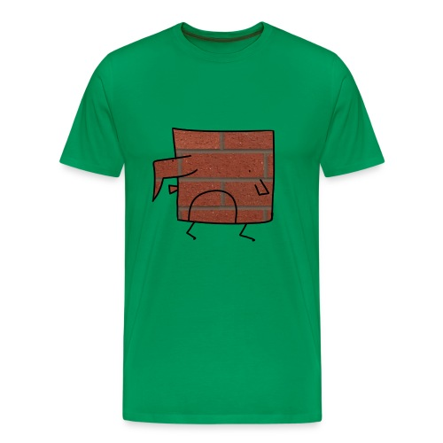 Brick Berd - Men's Premium T-Shirt