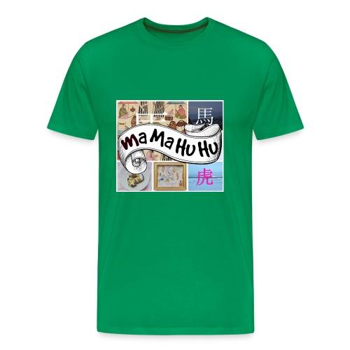 Ma ma hu hu / So-so - Miesten premium t-paita