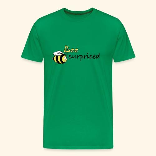 bee suprised - Männer Premium T-Shirt