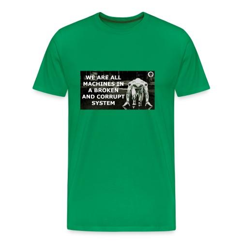 BROKEN MACHINES COLLECTION BY SYSTEM MACHINE - Men's Premium T-Shirt